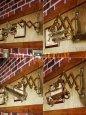 画像9: 真鍮製ダブルシザーアームランプ|インダストリアル二重蛇腹式ウォールライト|Hi-Romi.com 完全オリジナル照明 (9)