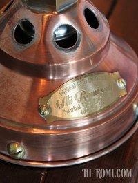 画像2: 工業系銅製ミニシェード&角度調整付ダブルアームブラケットライト2|Hi-Romi.com 完全オリジナル照明