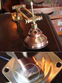 画像3: 工業系銅製ミニシェード&角度調整付ダブルアームブラケットライト2|Hi-Romi.com 完全オリジナル照明
