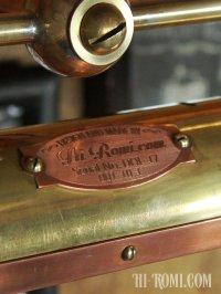 画像2: 真鍮&銅製スチームパンクなインダストリアルピクチャーライト(1)|Hi-Romi.com 完全オリジナル照明