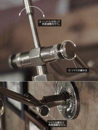 画像1: インダストリアル真鍮ダブルアームブラケットライト|工業系照明|Hi-Romi.com 完全オリジナル照明