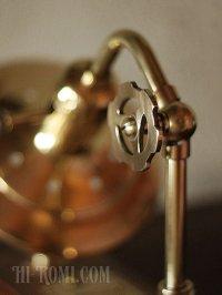 画像2: 工業系照明インダストリアルシェード&フック付ブラケットライト|真鍮・木ウォールランプ|Hi-Romi.com 完全オリジナル照明