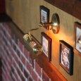 画像7: ピクチャーライト|インダストリアル工業系壁掛け照明ブラケットライト真鍮 (7)
