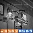 画像16: ピクチャーライト|インダストリアル工業系壁掛け照明ブラケットライト真鍮 (16)