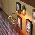 画像4: ピクチャーライト|インダストリアル工業系壁掛け照明ブラケットライト真鍮 (4)