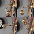 画像10: ピクチャーライト|インダストリアル工業系壁掛け照明ブラケットライト真鍮 (10)