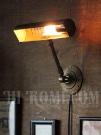 画像3: ヴィンテージ角度調整付真鍮製ウォールブラケット・壁掛ピクチャーライト/アンティーク工業系照明