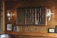 画像3: クリアガラスチムニー付きコロニアルキャンドルブラケットA/アンティークコロニアルモダン照明