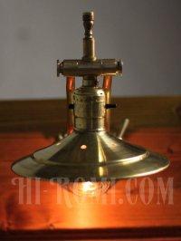 画像3: 工業系真鍮製角度調整ダブルアームシェード付ブラケット
