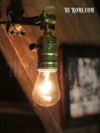 画像3: USAヴィンテージ工業系角度調整付壁掛ライトA/アンティークアトリエ照明