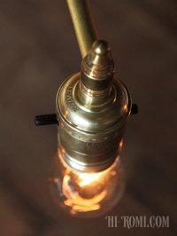 画像2: USAヴィンテージLEVITON社製真鍮ソケット付ミニブラケットA