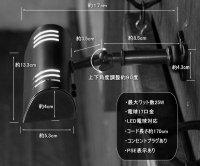 画像3: ヴィンテージ角度調整付ミニウォールブラケット・壁掛ピクチャーライトA/アンティーク工業系照明