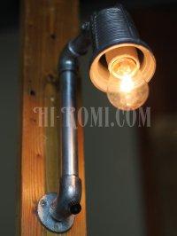 画像3: USAヴィンテージSTONCOインダストリアル角度調整付ブラケット/アンティーク工業系照明壁掛ランプ