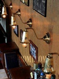 画像3: アメリカンヴィンテージミニ角度調整&ソケットホルダー付きブラケットA/インダストリアル・ミッドセンチュリーウォールランプ壁掛照明