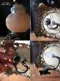 画像11: USAヴィンテージコロニアルミルクガラス3Wayテーブルランプ/アンティークヴィクトリアン卓上照明 (11)