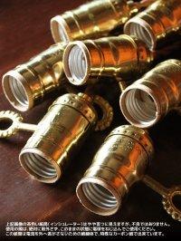 画像3: LEVITON鍵スイッチ付真鍮製ソケットペンダントライト照明
