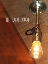 画像3: 工業系照明|インダストリアルミニブラケットライト・角度調整ウォールランプ