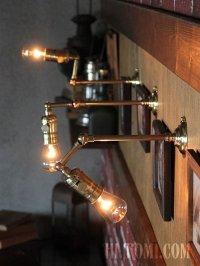 画像3: 工業系照明|インダストリアルブラケットライト・角度調整ウォールランプLEVITON