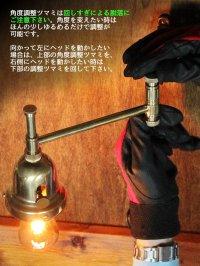 画像2: 工業系照明|インダストリアルスウィングアームブラケットライト真鍮製