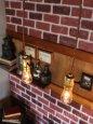 画像5: 【60cmコード】金色LEVITON社ターンスイッチ付アルミ製ソケットペンダントライト (5)