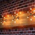画像6: ミッドセンチュリースプートニクランプ6灯ブラケットライト/USA50's60'sアメリカヴィンテージ壁掛け照明  (6)