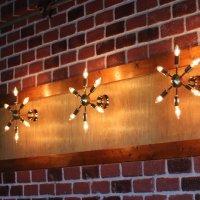 画像3: ミッドセンチュリースプートニクランプ6灯ブラケットライト/USA50's60'sアメリカヴィンテージ壁掛け照明