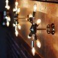 画像4: ミッドセンチュリースプートニクランプ6灯ブラケットライト/USA50's60'sアメリカヴィンテージ壁掛け照明  (4)