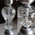 アンティーク照明|ガラスチムニーハリケーンランプUSAヴィンテージテーブルライト