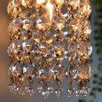 USAヴィンテージミニシャンデリアブラケットライト壁掛け照明|アンティーク照明