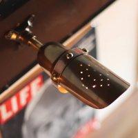 画像2: 【小】インダストリアルブラスピクチャーライト・ブラケットライト スチームパンク工業系真鍮製壁掛け照明