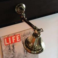 画像3: 工業系壁掛け照明|真鍮製山型シェード&銅製配管インダストリアルブラケットライト