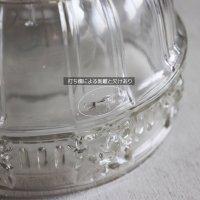 画像2: USAヴィンテージガラスシェード&真鍮製シーリングライト|アンティーク天井照明