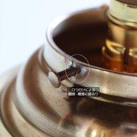 画像3: USAヴィンテージガラスシェード&真鍮製シーリングライト|アンティーク天井照明