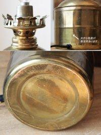 画像3: USAヴィンテージ卓上照明真鍮製オイルランプ型ミニテーブルライト|オールドアメリカンランプガレージ工業系