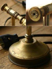 画像2: ヴィンテージ真鍮製ウォールランプ/アンティーク壁掛けライト照明