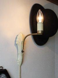 画像3: USAヴィンテージシェル型ウォールライト|貝型ブラケット照明