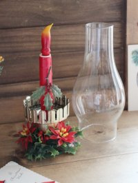画像3: USAヴィンテージクリスマスハリケーンランプC|卓上照明キャンドル