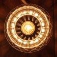 画像9: ヴィンテージカットガラスミニテーブルライトA|卓上照明カフェランプ (9)