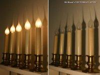 画像1: アメリカンヴィンテージ|チャーチキャンドルライト教会卓上照明