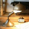 画像8: 真鍮クリップシェード付き壁掛兼用卓上照明 ヴィンテージライト (8)