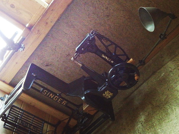 ヴィンテージ工業系真鍮ブラケットライト照明平傘角度調整付