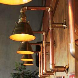 USAヴィンテージインダストリアルブラケットライト|壁面照明・銅真鍮
