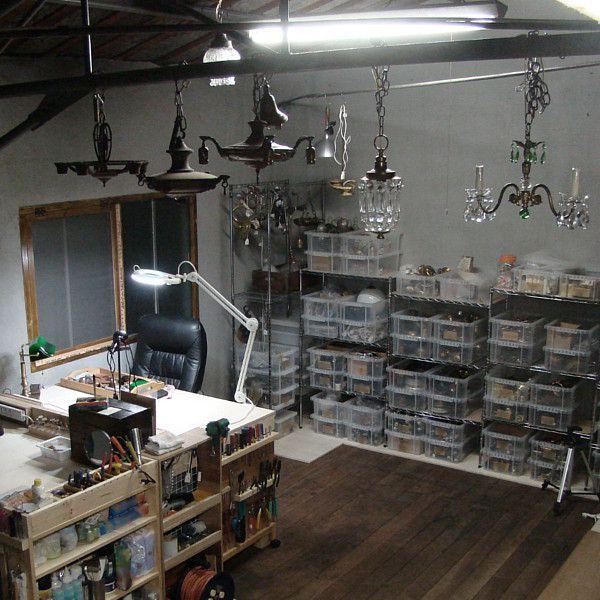照明製作の工房
